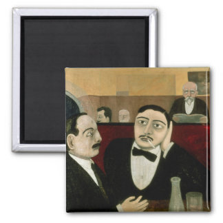 The Intellectuals at the Cafe Rotonde, 1916 Magnet