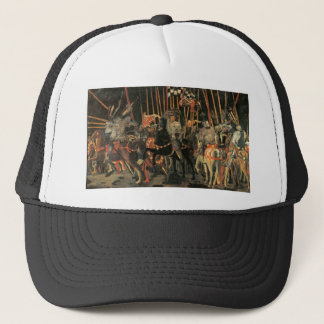 The intervention of Micheletto Cotignola by Paolo Trucker Hat