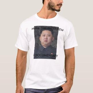 THE INTERVIEW Kim Jong Un T-shirt