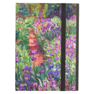 The Iris Garden by Claude Monet iPad Air Covers