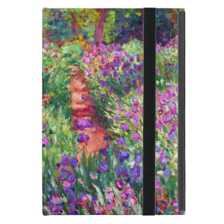 The Iris Garden by Claude Monet iPad Mini Case