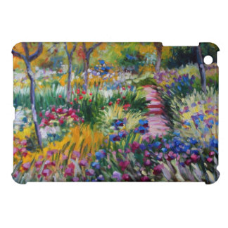 The Iris Garden by Claude Monet iPad Mini Covers