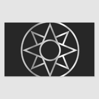 The Ishtar star Mesopotamian Rectangular Sticker