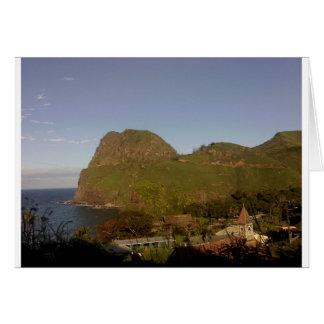 The Island of Maui Card