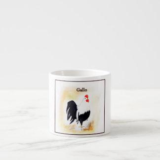The Italian Rooster Gallo 6 Oz Ceramic Espresso Cup