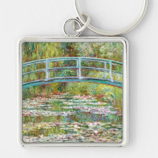 The Japanese Bridge 1899 Claude Monet Key Ring