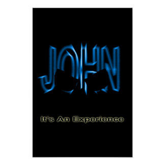 The John Experience Poster