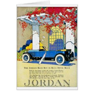 The Jordan Blue Boy Card