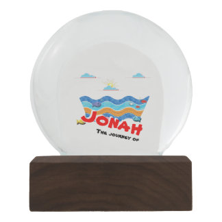 The journey of Jonah Snow Globe
