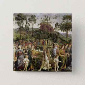 The Journey of Moses, c.1481-83 15 Cm Square Badge