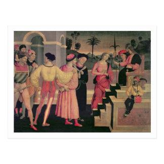 The Judgement of Daniel Postcard
