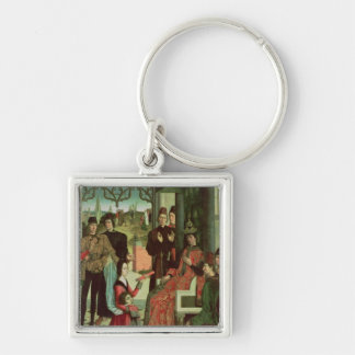 The Justice of the Emperor Otto: Trial by Fire Key Ring