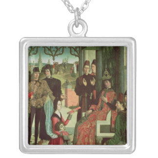 The Justice of the Emperor Otto: Trial by Fire Silver Plated Necklace