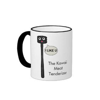 The Kawaii Meat Tenderizer Ringer Mug
