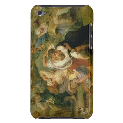 The Kermesse, detail of peasants dancing, c.1635-3 iPod Touch Cover