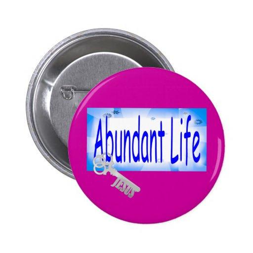 The Key to Abundant Life v2 (John 10:10) Pin