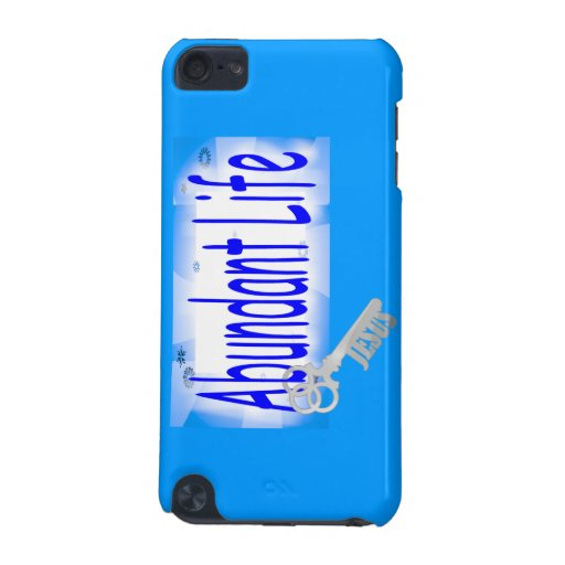 The Key to Abundant Life v2 (John 10:10) iPod Touch 5G Cases