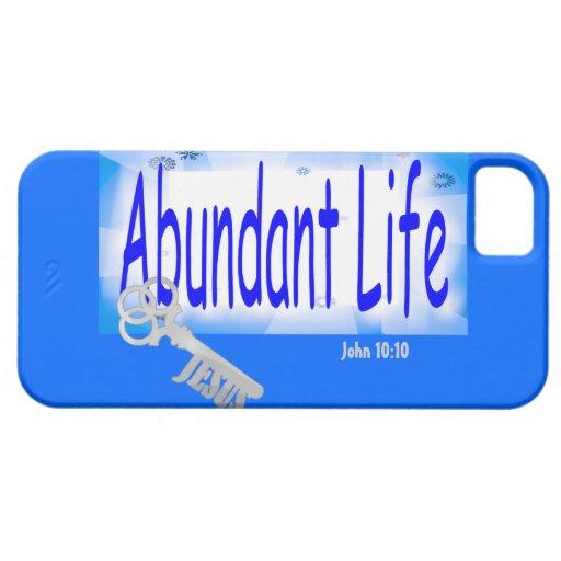 The Key to Abundant Life v2 (John 10:10) iPhone 5 Case
