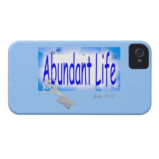 The Key to Abundant Life v2 (John 10:10) Blackberry Cases