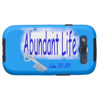 The Key to Abundant Life v2 (John 10:10) Samsung Galaxy SIII Case
