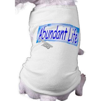 The Key to Abundant Life v2 (John 10:10) Pet T Shirt