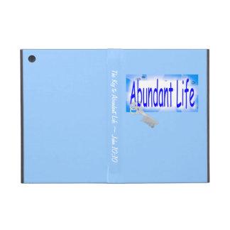 The Key to Abundant Life v2 (John 10:10) iPad Mini Case