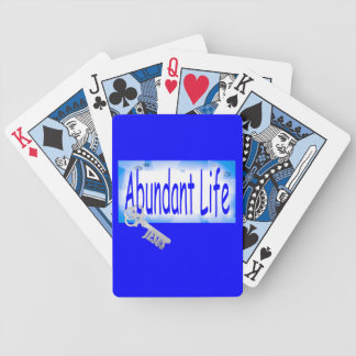 The Key to Abundant Life v2 (John 10:10) Bicycle Playing Cards