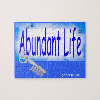 The Key to Abundant Life v2 (John 10:10) Jigsaw Puzzles