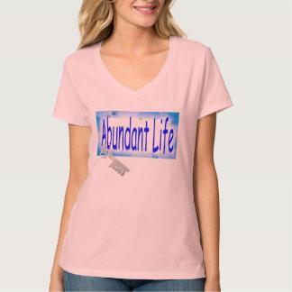 The Key to Abundant Life v2 (John 10:10) T-Shirt