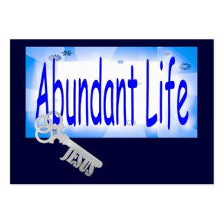 The Key to Abundant Life v2 Tract Card / Business Card