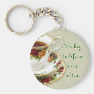 The Key To Life Key Ring