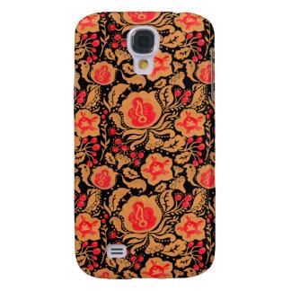 The Khokhloma Kulture Pattern Galaxy S4 Case