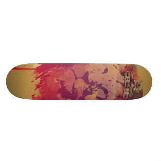 The King Skate Board Deck