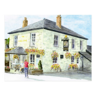 The Kings Arms Luxulyan Postcard