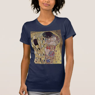 The Kiss (Detail) By Klimt Gustav T-Shirt