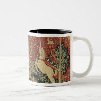 The Lady and the Unicorn: 'Taste' Two-Tone Mug