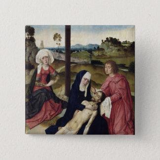 The Lamentation, c.1455-60 15 Cm Square Badge