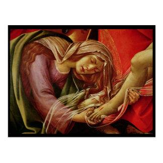 The Lamentation of Christ Postcard