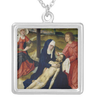 The Lamentation Silver Plated Necklace