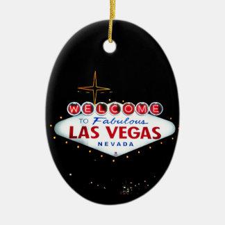 The Las Vegas Sign - Welcome To Fabulous Las Vegas Christmas Ornament