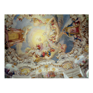 The Last Judgement, ceiling painting Postcard