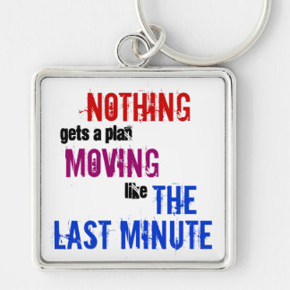 The Last Minute Key Ring