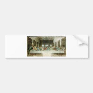 The Last Supper by Leonardo Da Vinci c. 1495-1498 Bumper Sticker
