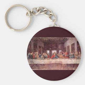 The Last Supper by Leonardo da Vinci, Renaissance Key Ring