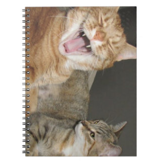 """""""The Laughing Cat"""" Photo Notebook (80 Pages B&W)"""