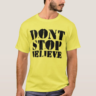 The Law - Don't Stop, Believe- T-Shirt