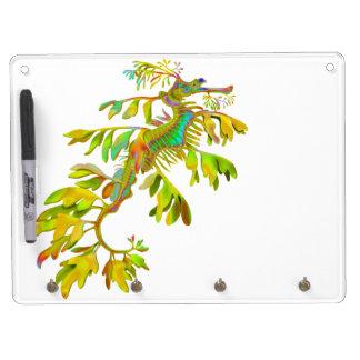 The Leafy Sea Dragon Seahorse Dry Erase Board