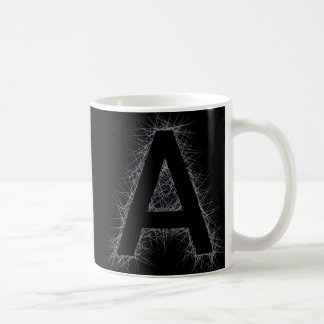 The Letter A Coffee Mug