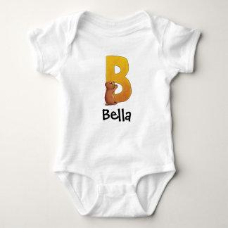 The letter B Baby Bodysuit