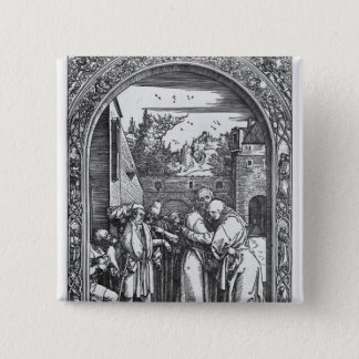 The 'Life of the Virgin' series 15 Cm Square Badge